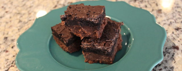 Oreo Truffle Brownies | One Hangry Mama