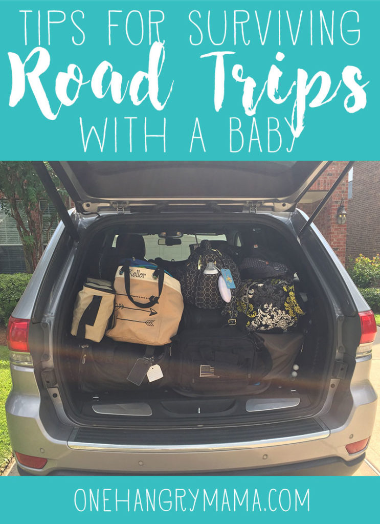 Going on a road trip with a baby? Make sure to read these tips to help you survive the journey first!