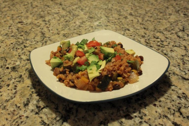 Veggie Burrito Bowl | One Hangry Mama