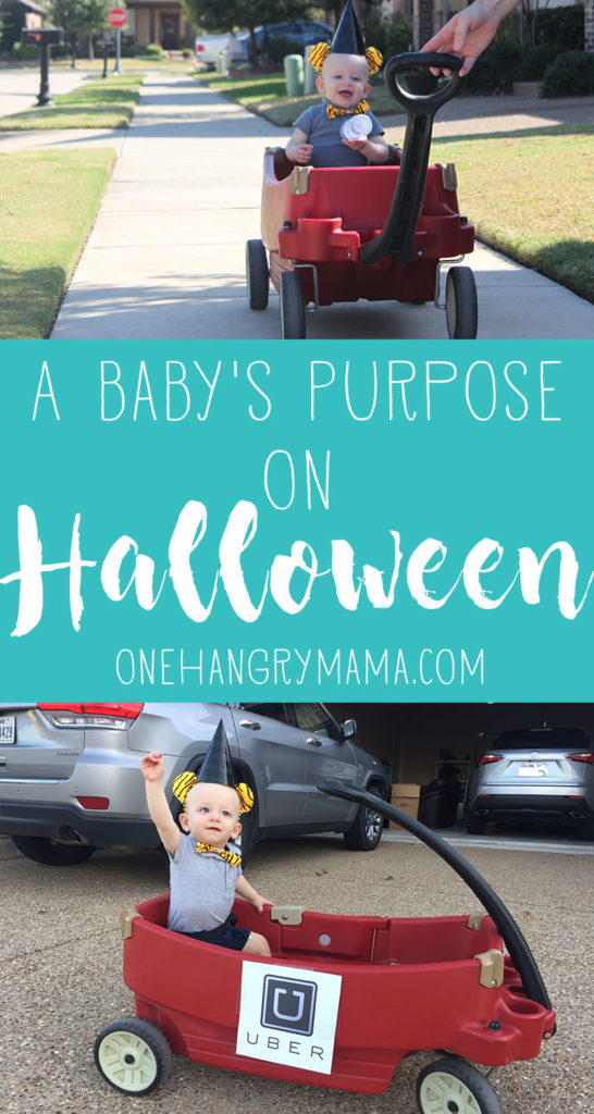 Ideas for baby on Halloween from @OneHangryMama