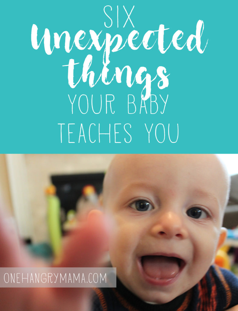 You're going to learn a lot from your baby... just maybe not what you think. #momlife #momblog #babies