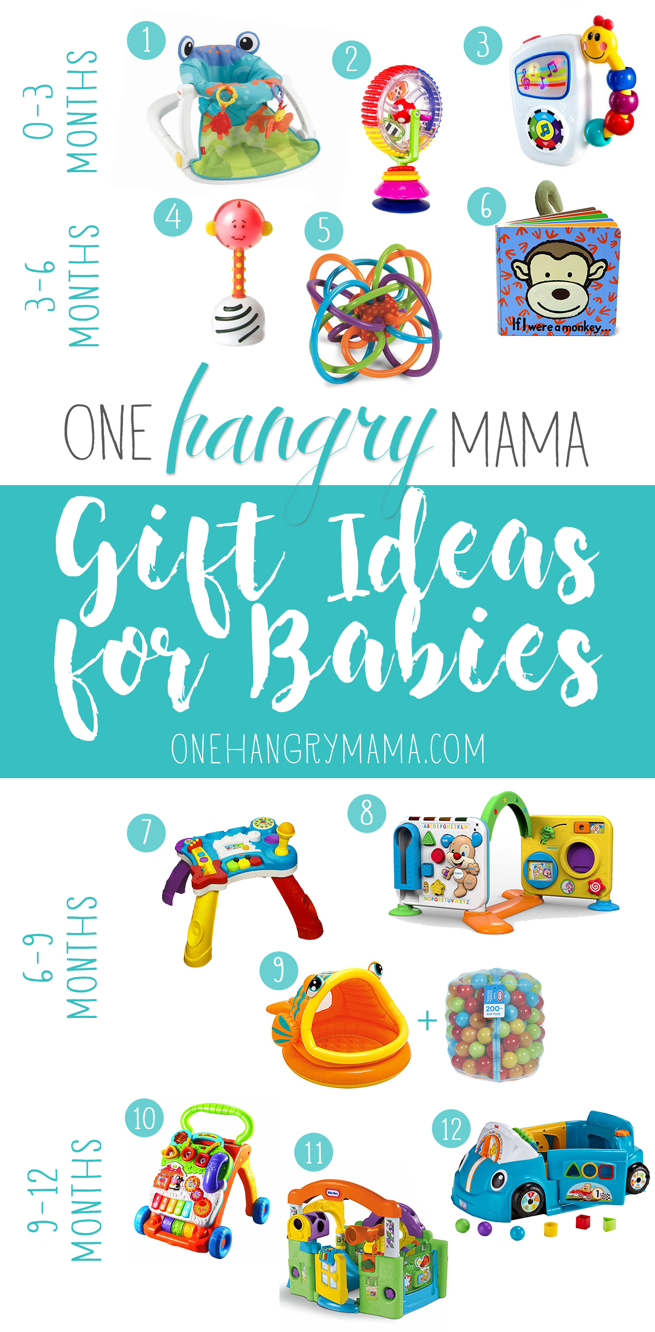 Gift Ideas for Babies | One Hangry Mama