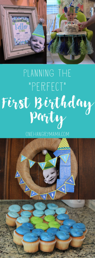 "Planning the ""Perfect"" First Birthday Party 