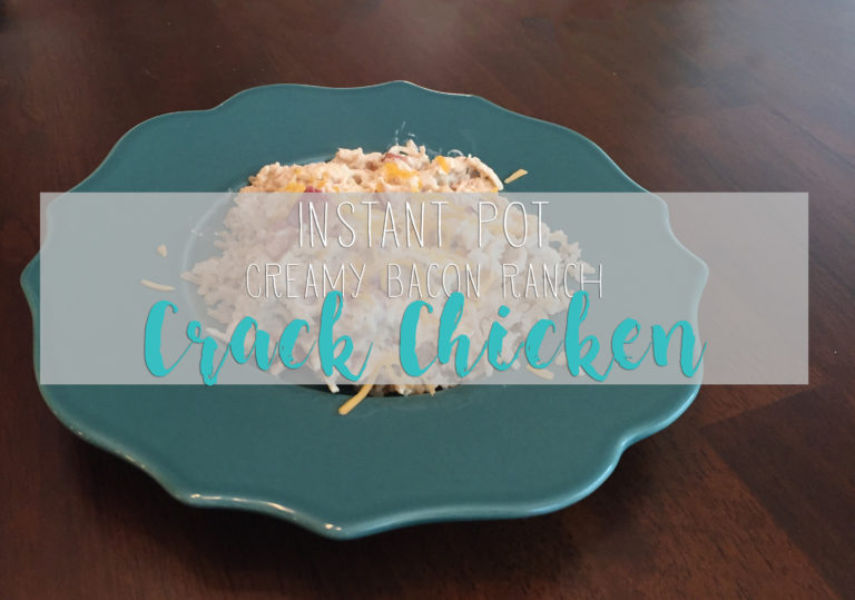 This Crack Chicken is a perfect Instant Pot starter recipe!