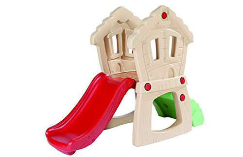 This Little Tikes Hide and Seek Climber Slide is an awesome toddler gift. 12-18 month olds love climbing, and it'll wear them out!