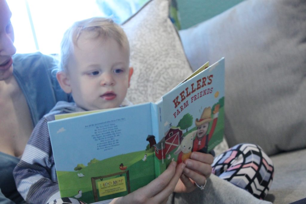 Books are a great gift for 12-18 month old toddlers!
