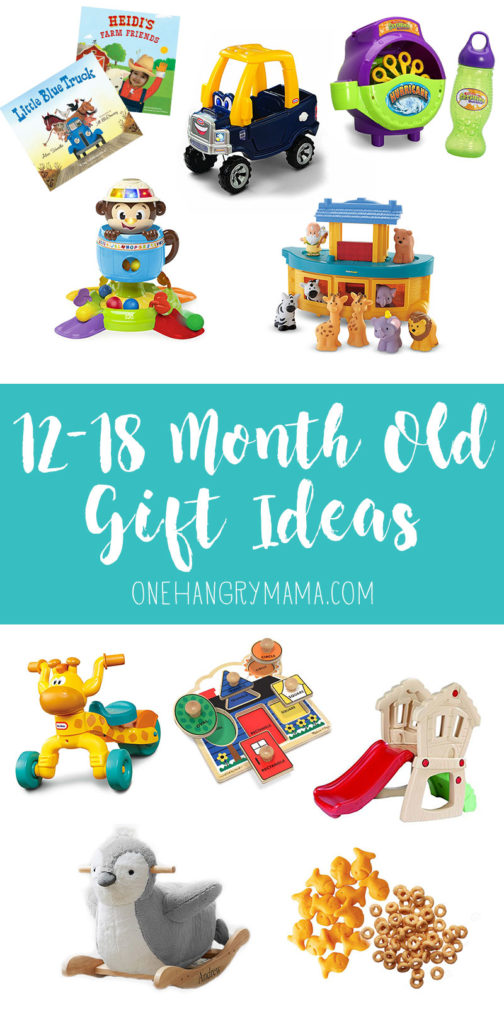 10 awesome gift ideas for 12-18 month old toddlers.