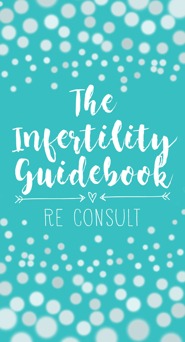 The RE consult can be an intimidating part of the infertility process, but it may be the best decision you ever make. Check out this guidebook for what to expect at your first RE appointment!