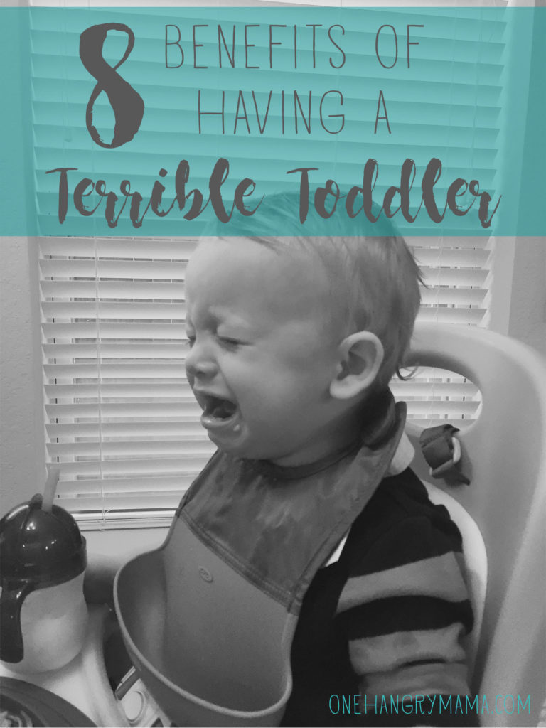 Toddlers are a lot of work, and the terrible twos and threes are REAL, but they have some hidden benefits, too.