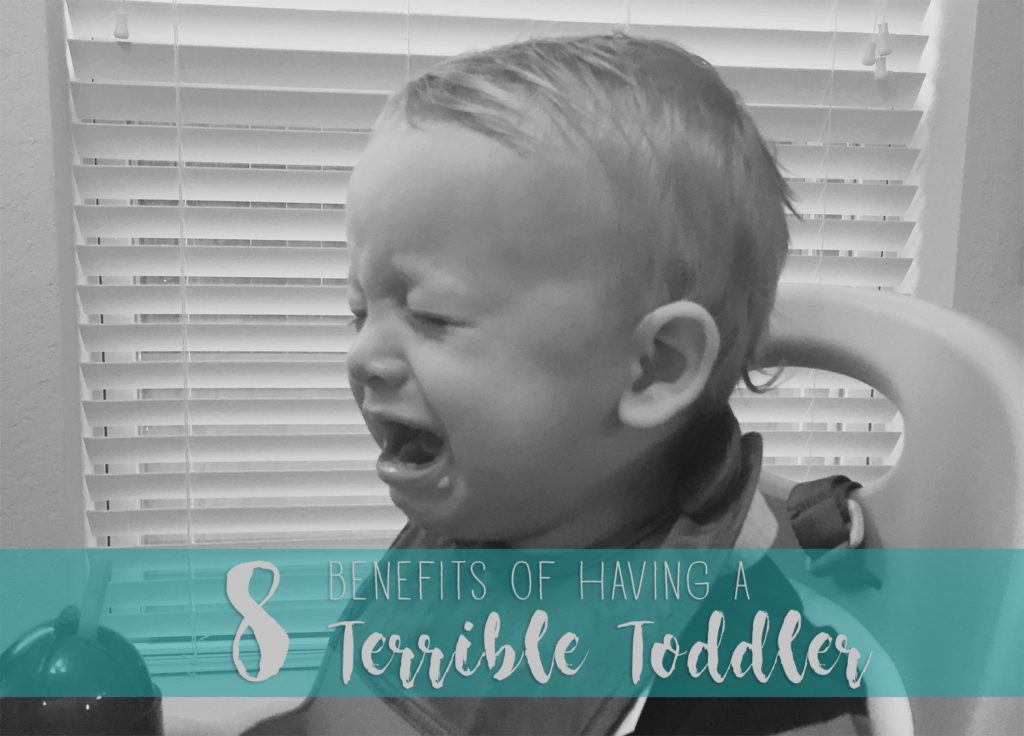 8 Benefits of Having a Terrible Toddler | One Hangry Mama