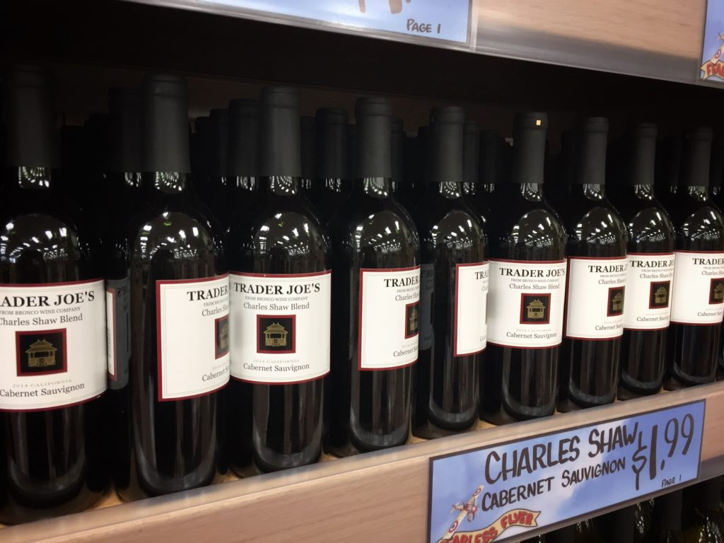 Trader Joe's Wine - Two Buck Chuck