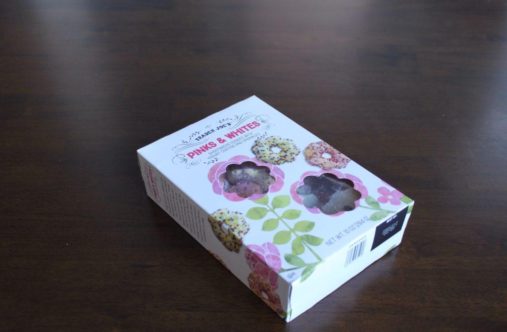 Trader Joe's Pink & White Cookies