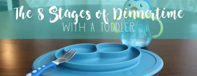 It's hard enough finding a meal your toddler will actually like, finding time to cook said meal, and surviving the day long enough to get it to the table... but actually making it through dinnertime with a toddler is a journey in itself. These are the 8 stages toddlers go through during dinner, every night.
