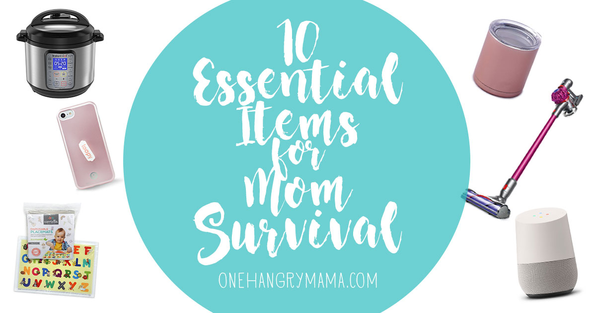 These 10 items are absolutely essential for mom survival. Motherhood is hard work, but these 10 must-have things will make toddler or baby mom's life much easier!