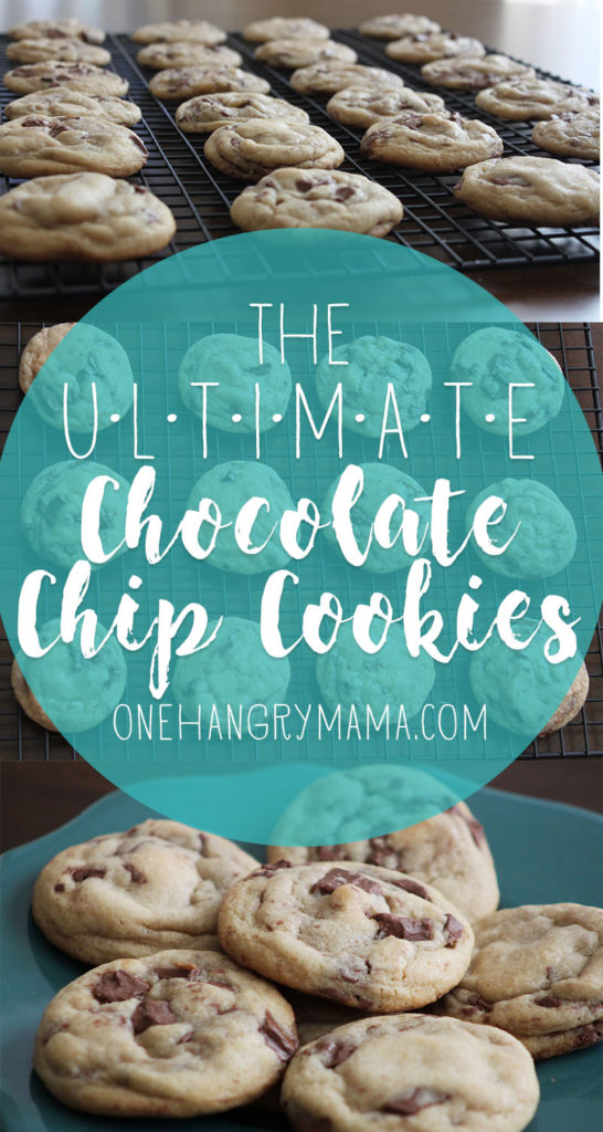 These Chocolate Chip Cookies are the ULTIMATE, tried and tested, best of the best, go-to cookie recipe. These cookies are a staple, and are sure to make you the most popular mom on the block!