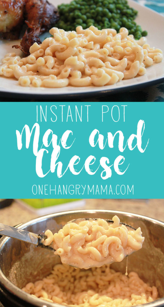 Instant Pot Mac and Cheese is creamy, gooey, cheesy goodness, and even better, it's easy and fast! 20 minutes, beginning to end, and your kids will beg for seconds.