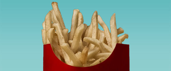 McDonald's French Fries are a tried & true IVF superstition -- take them on the way home for a little boost of luck!