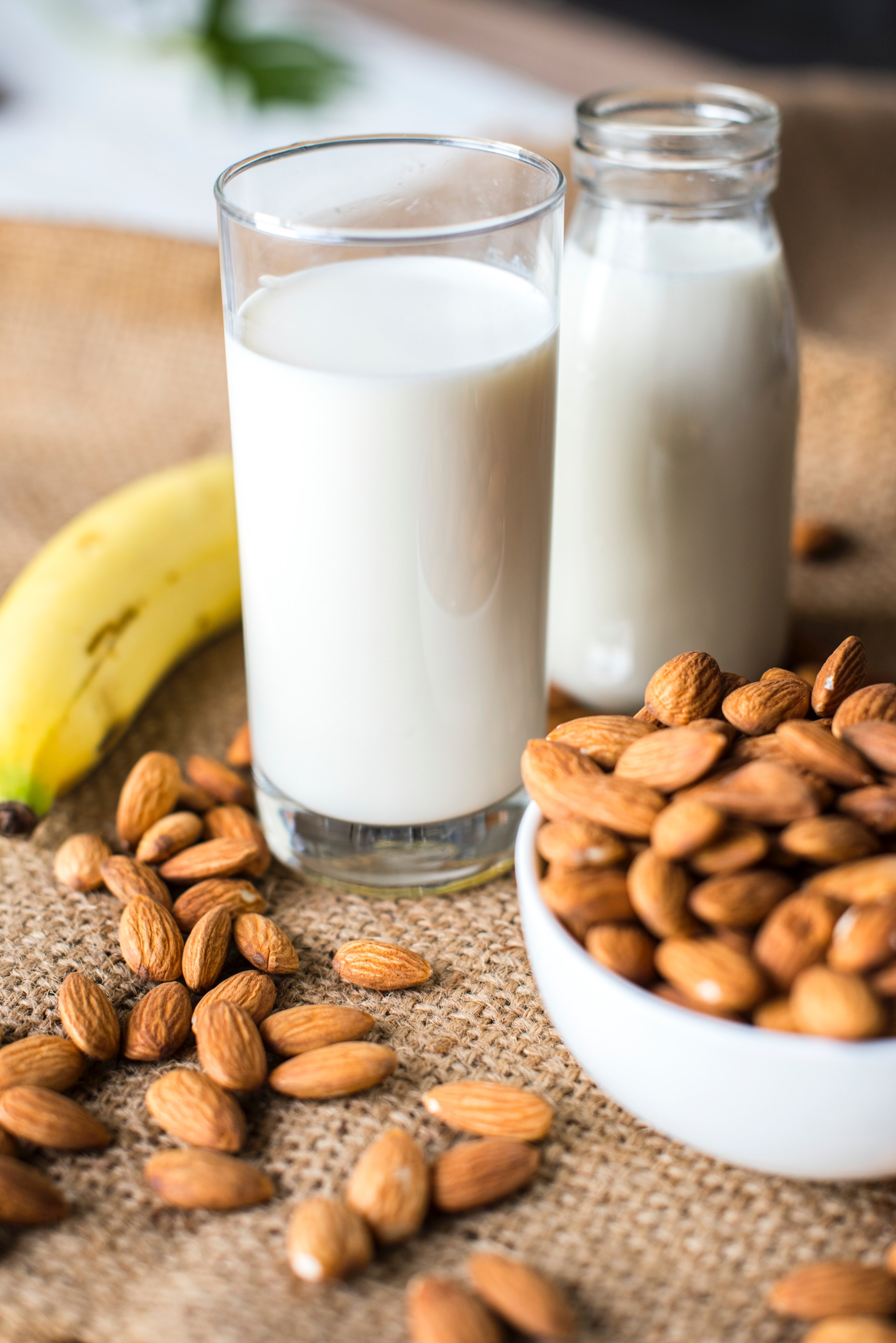 Going dairy free as a breastfeeding mom is SO hard; almond mind is a great substitute for dairy.