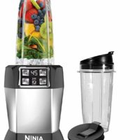 Ninja BL480D Blender, 32/24/18 oz, Black/Silver