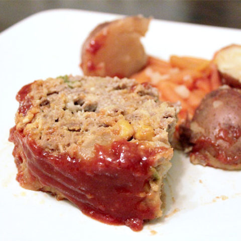 Instant Pot Meatloaf with Potatoes, and Carrots