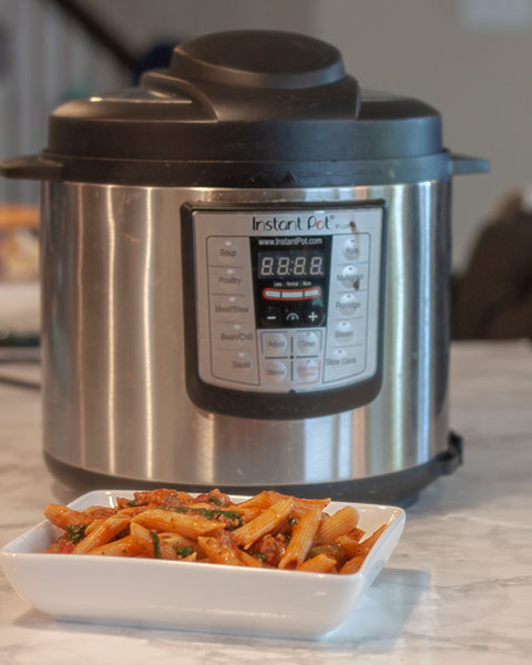 Instant Pot Italian Sausage Pasta is a perfect family-friendly, easy weeknight meal.