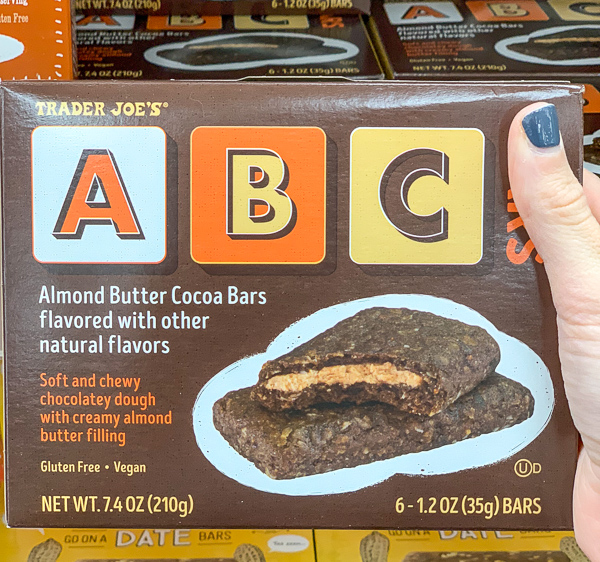 The Best Trader Joe's Items for Toddler Moms: ABC Bars