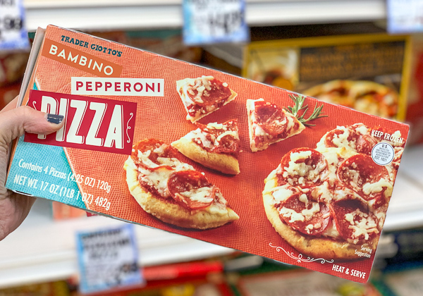 The Best Trader Joe's Items for Toddler Moms: Bambino Pizzas