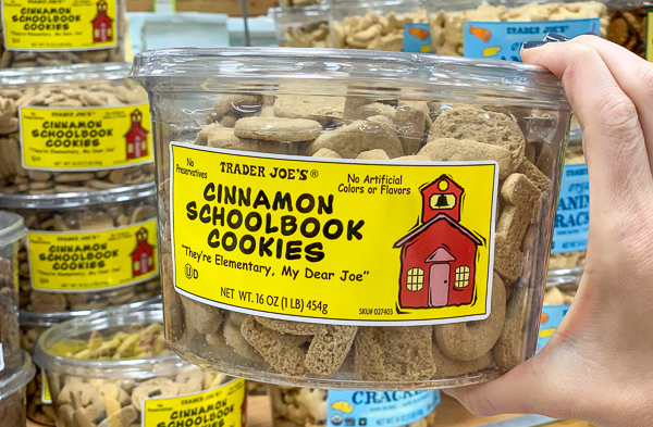 The Best Trader Joe's Items for Toddler Moms: Cinnamon Schoolbook Cookies
