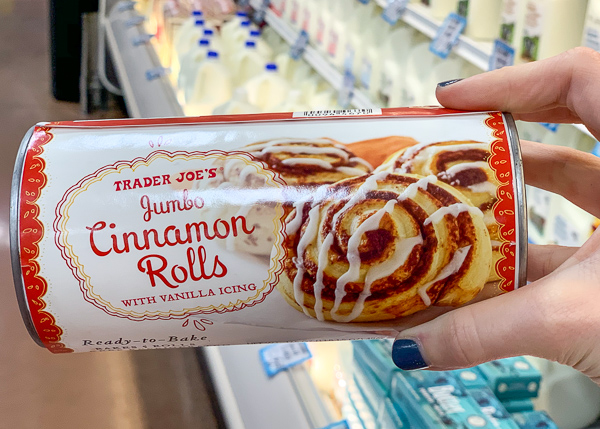 The Best Trader Joe's Items for Toddler Moms: Cinnamon Rolls
