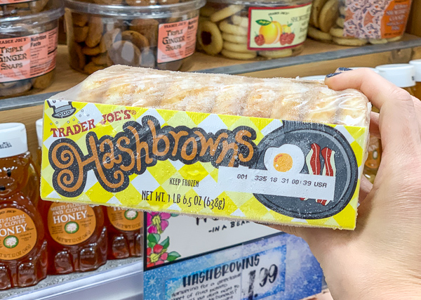 The Best Trader Joe's Items for Toddler Moms: Frozen Hashbrowns