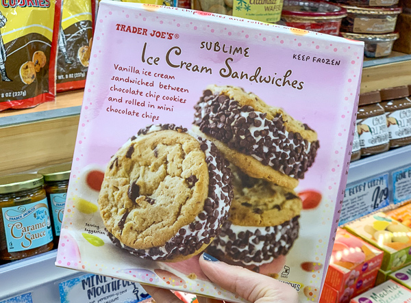 The Best Trader Joe's Items for Toddler Moms: Frozen Ice Cream Sandwiches