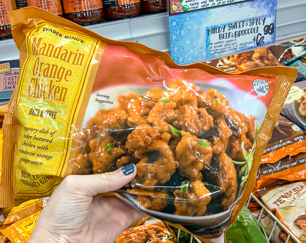 The Best Trader Joe's Items for Toddler Moms: Frozen Mandarin Orange Chicken