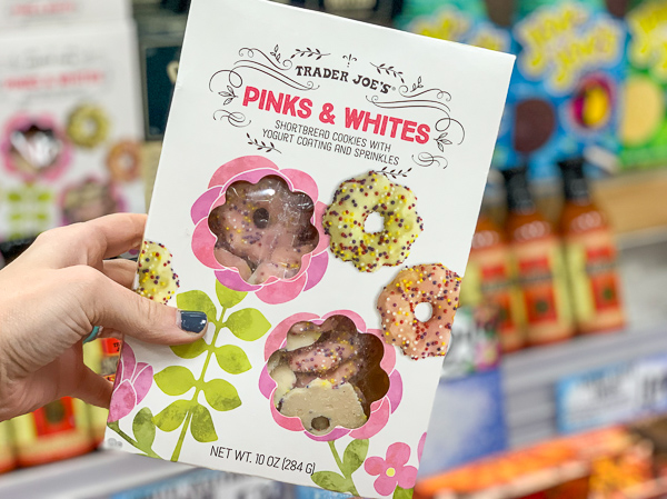 The Best Trader Joe's Items for Toddler Moms: Pinks & Whites Cookies