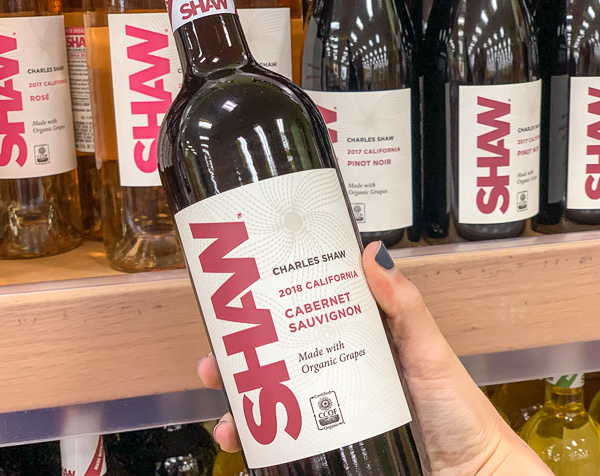 The Best Trader Joe's Items for Toddler Moms: Shaw Organic Wine
