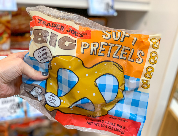The Best Trader Joe's Items for Toddler Moms: Frozen Soft Pretzels