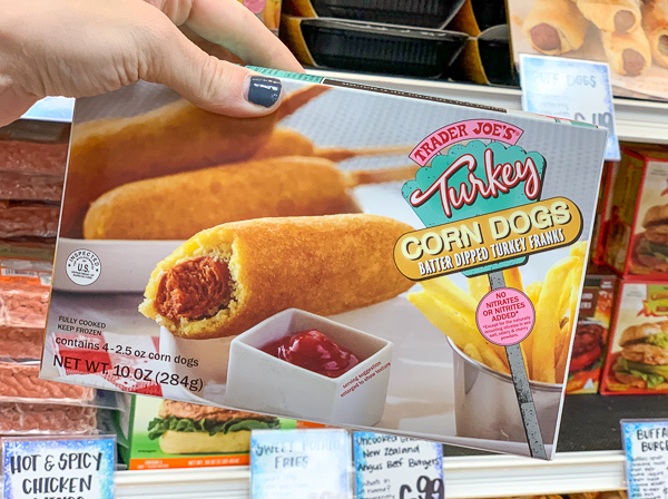 The Best Trader Joe's Items for Toddler Moms: Frozen Turkey Corn Dogs