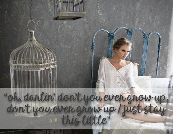 Taylor Swift Anthems for 13 Stages of Motherhood - Never Grow Up