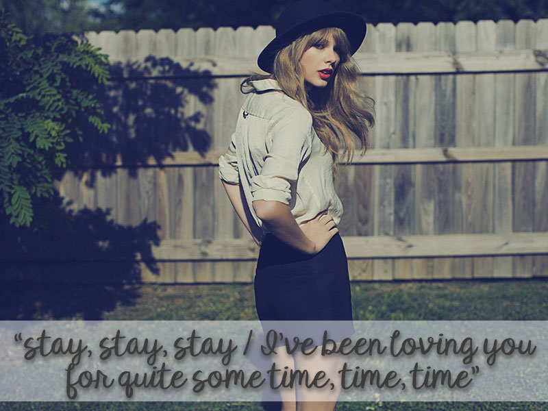 Taylor Swift Anthems for 13 Stages of Motherhood - Stay Stay Stay