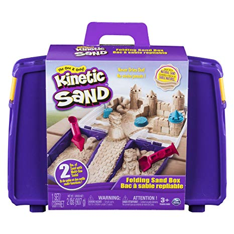 Kinetic Sand with Folding Sand Box