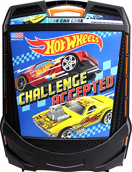 Hot Wheels Rolling Storage Case