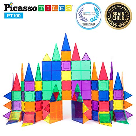 PicassoTiles - 100 Piece Set
