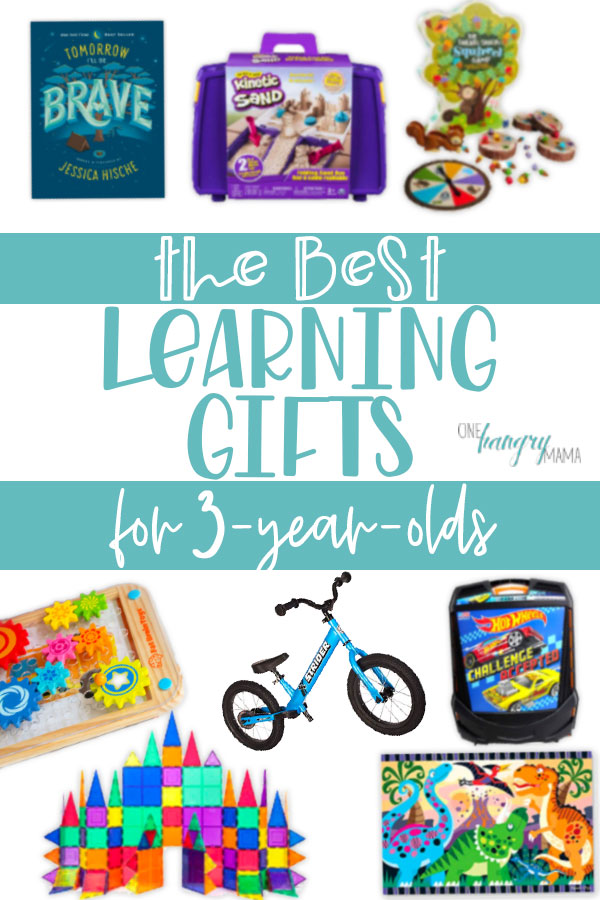 Some of this year's best learning gifts for 3-year-olds, from a mom of a 3.5 year old. These STEM  / STEAM toys will get your toddler learning AND playing.