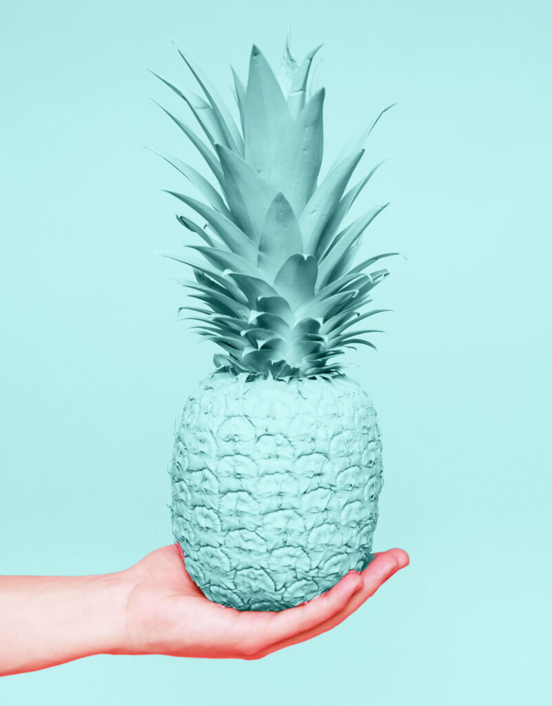 IVF superstitions that work! Eating pineapple core is one of the most popular superstitions for IVF success.