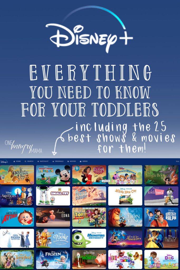 Everything you need to know to set up Disney+ for your toddlers –PLUS 25 of the best shows and movies for them!