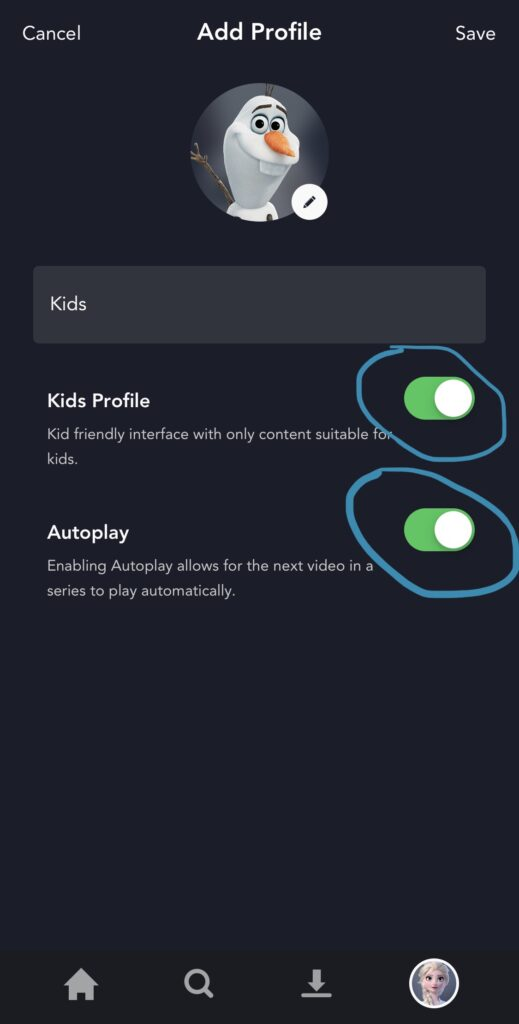 How to set up Disney+ for toddlers