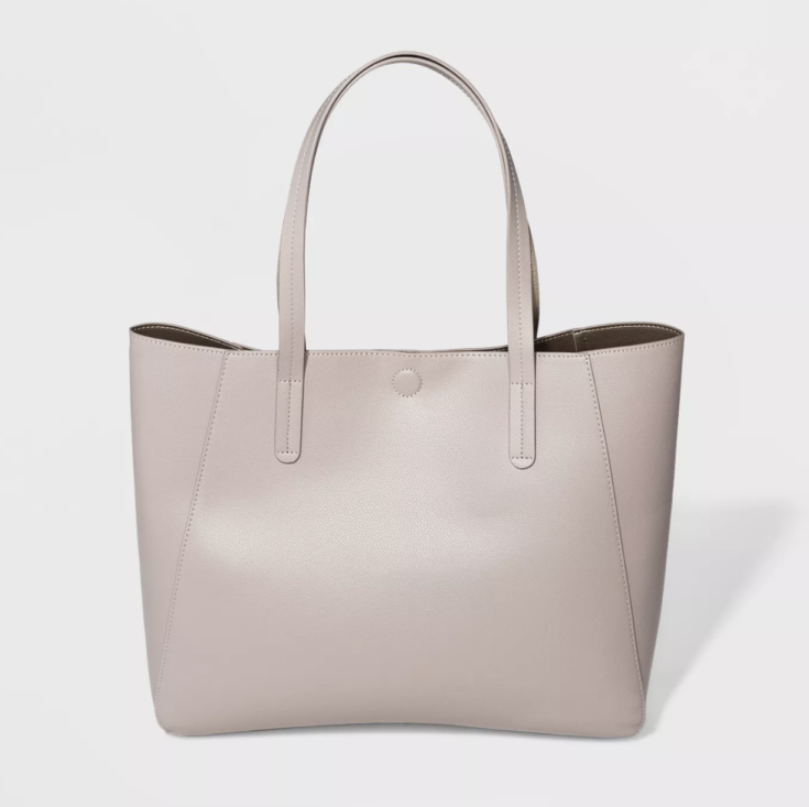 Reversible Tote Handbag - A New Day™