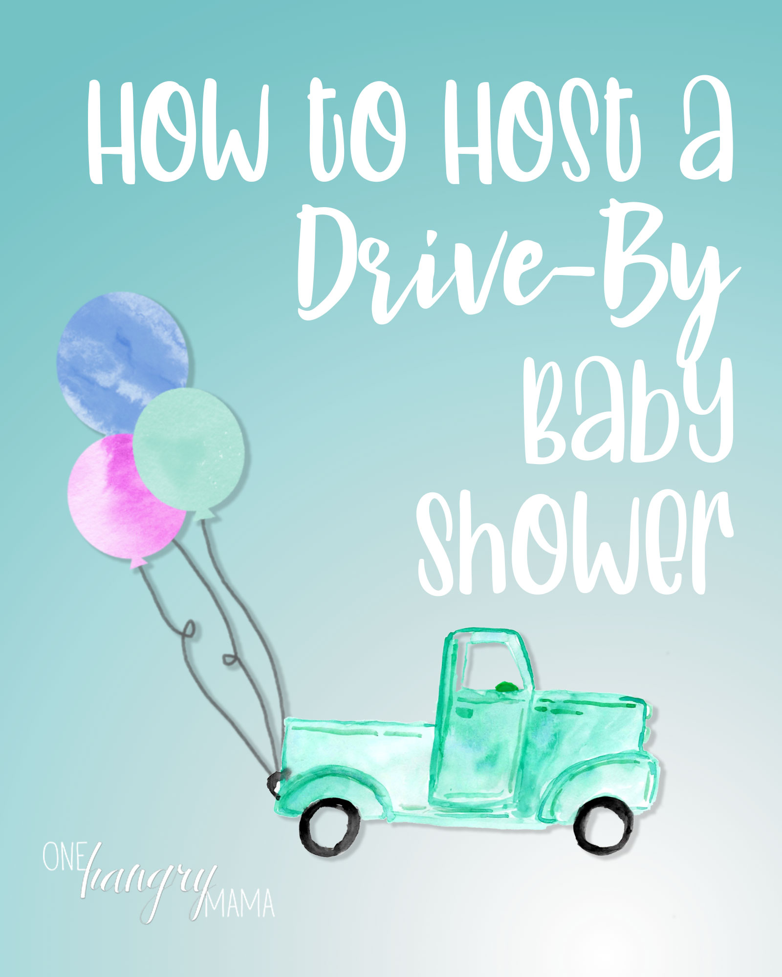 A drive-by baby shower is a great way to celebrate moms-to-be while maintaining social distancing.