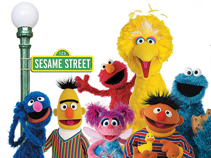 Sesame Street is a great educational show for toddlers and preschoolers.