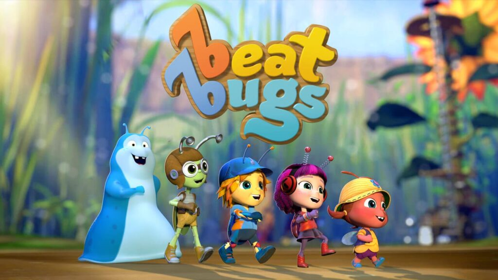 Beat Bugs is a great educational show for toddlers and preschoolers.