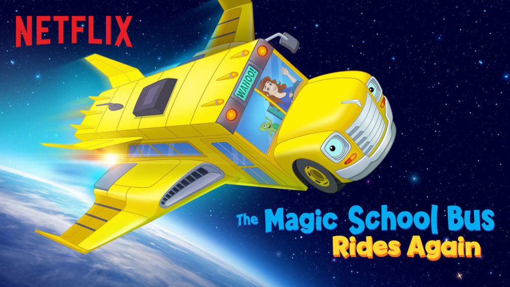 The Magic School Bus Rides Again is a great educational show for toddlers and preschoolers.